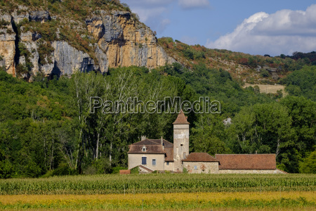 traditional farm lot quercy france europe