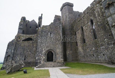 cathedral on the rock of cashel