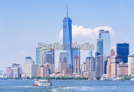 lower manhattan skyline new york skyline