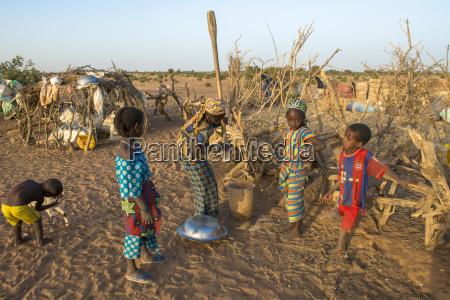 african village children tetiane bade senegal