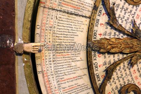 calendar astronomical clock of st john