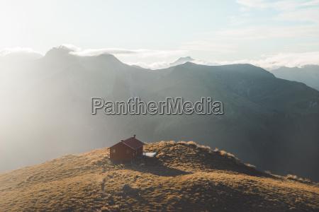 brewster hut mount aspiring national park