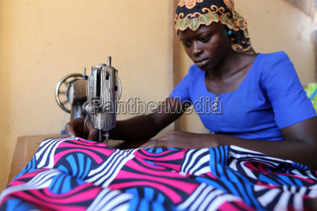 tailoring workshop in lome togo west
