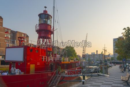 lightship now used as a restaurant