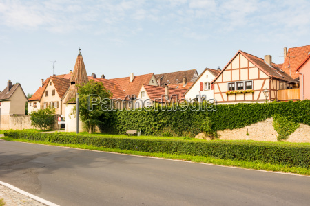 historic village sulzfeld am main