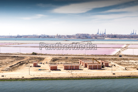 the confluence of the suez canal
