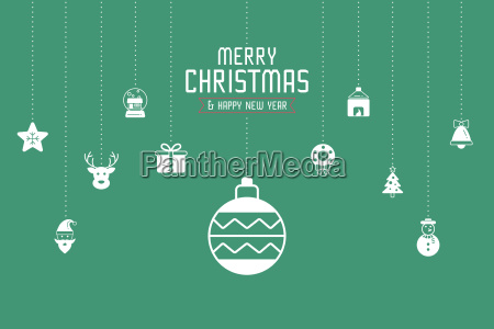 christmas greeting card or invitation background