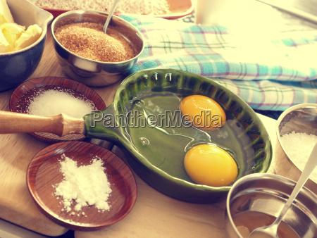 organic baking ingredients