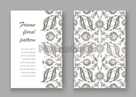 arabesque vintage decor ornate pattern for