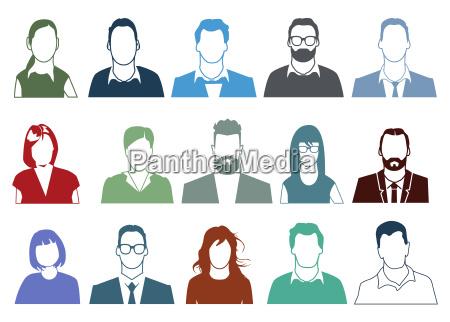 people faces portrait
