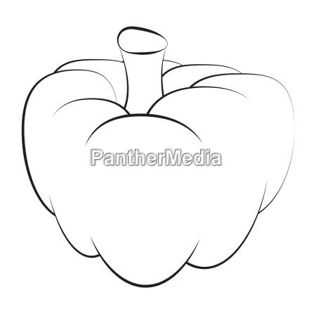 pumpkin vector symbol icon design