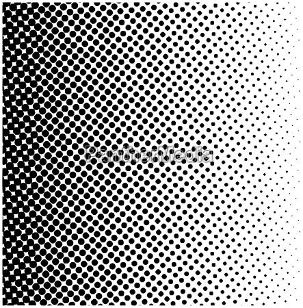halftone square vector logo symbol icon