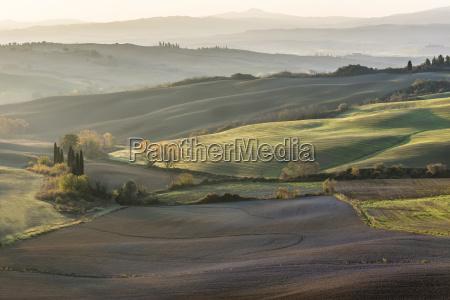 italy tuscany san quirico dorcia rolling