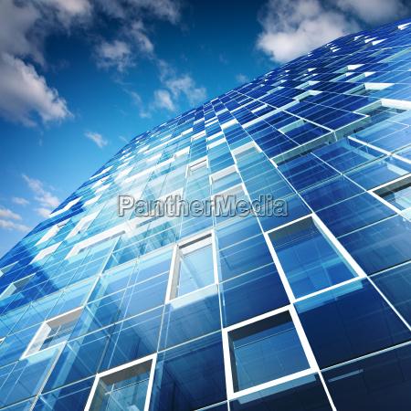 architecture 3d rendering building