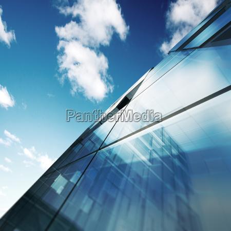 modern architecture 3d rendering