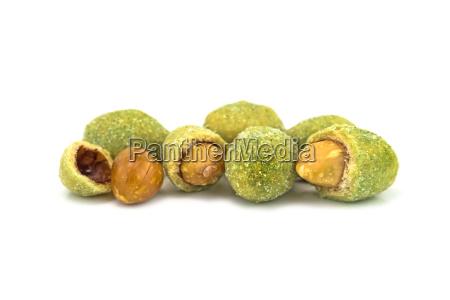 wasabi with peanut