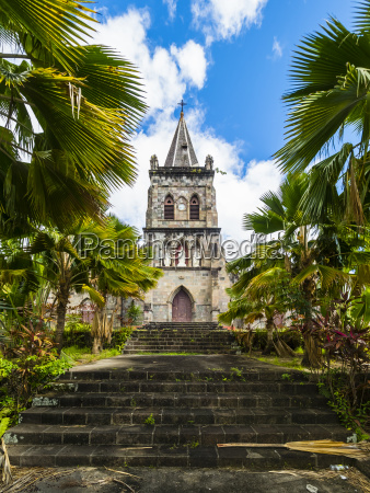 caribbean antilles dominica roseau cathedral of