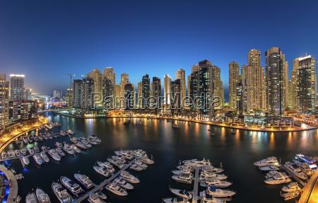 cityscape of dubai united arab emirates