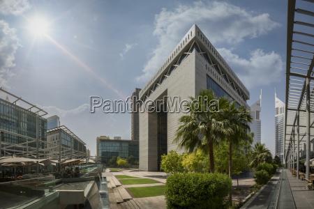 united arab emirates dubai gate building