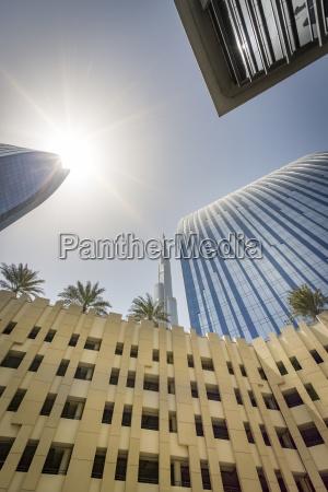 united arab emirates dubai buildings at