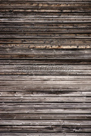 worn wooden facade