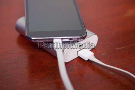 cell phone charging with power bank