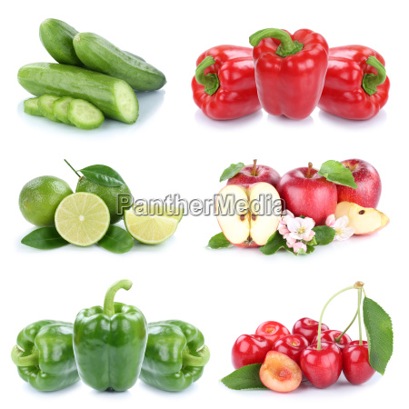 fruits and vegetables fruits apple peppers