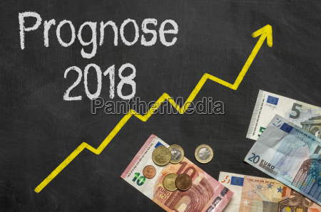 table with money forecast 2018