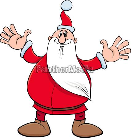 santa claus christmas holiday character