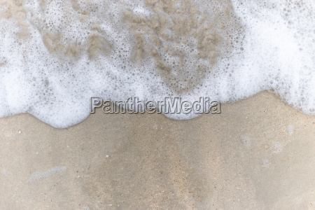 sand pattern of a beach in