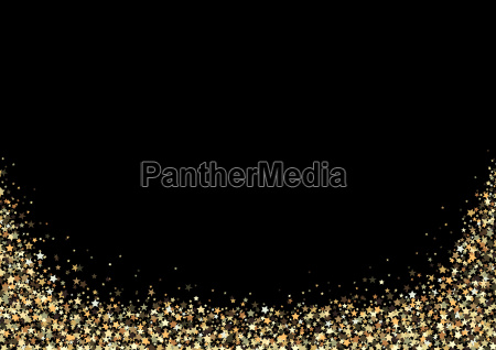 luxury background with gold stars
