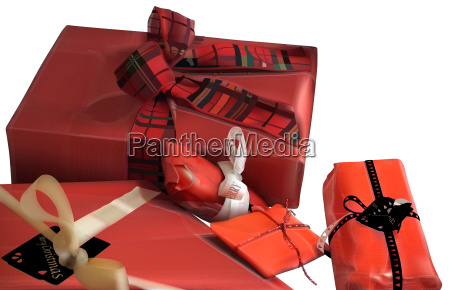 red christmas gifts