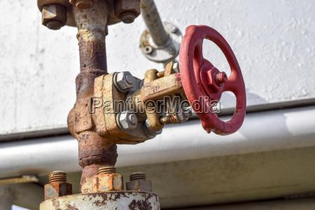 shut off valves on the high