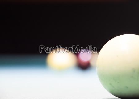 billiards billiard table balls on the