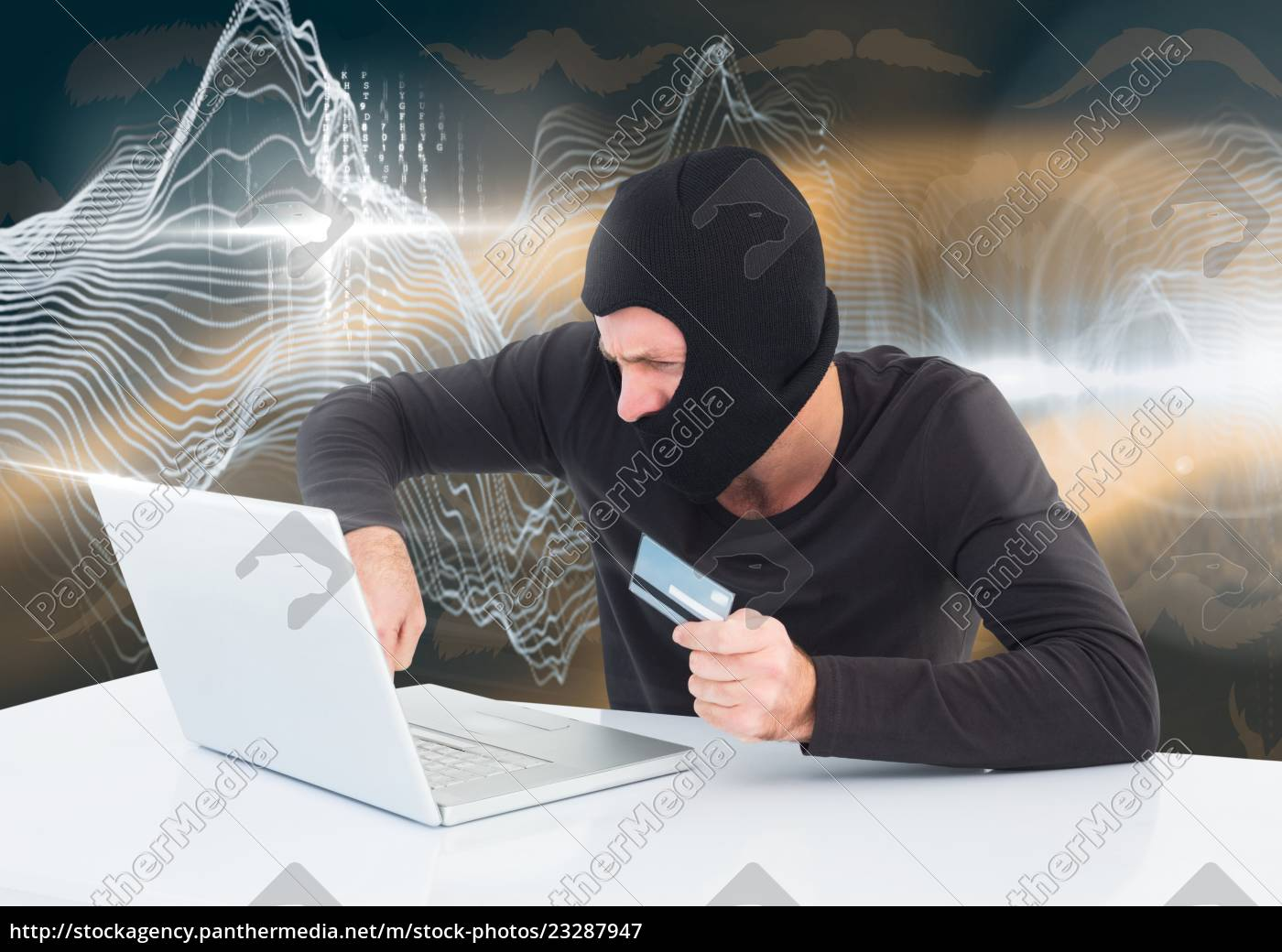 hacker, with, a, credit, card, working - 23287947