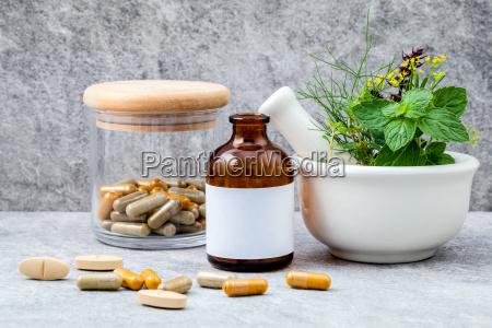 alternative health care fresh herbs
