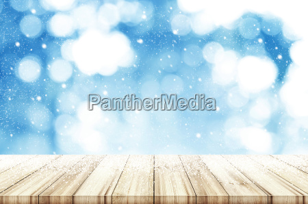christmas and new year background wooden