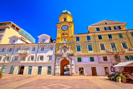 city of rijeka main square and