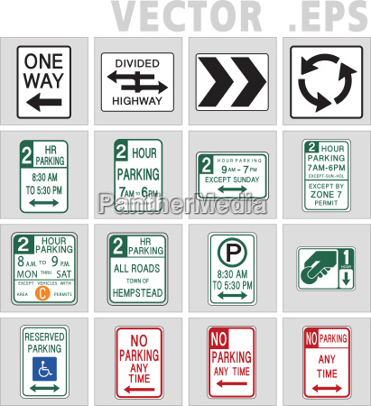 traffic sign road universal sign vector