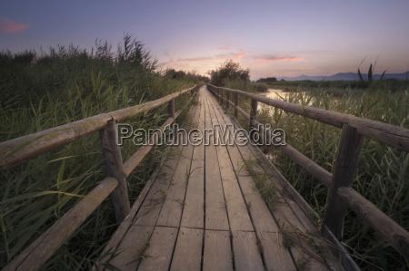 spain alicante empty boardwalk in a