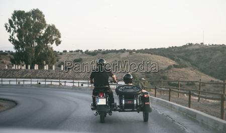 spain jaen mature couple riding on