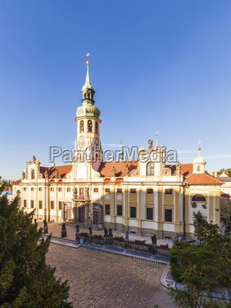 czech republic prague hradcany loreto place