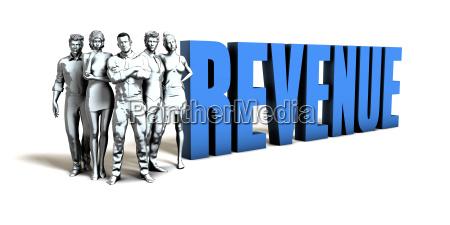 revenue business concept