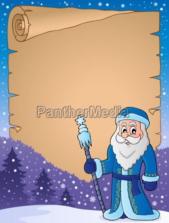 father frost theme parchment 1