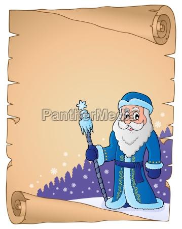 father frost theme parchment 2