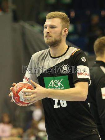 german handball player philipp weber dhb
