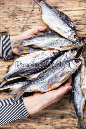 bunch salted fish