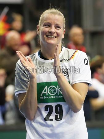 handball player antje lauenroth dhb sg