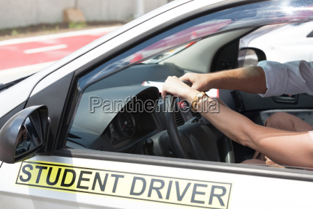 driving school learning to drive a