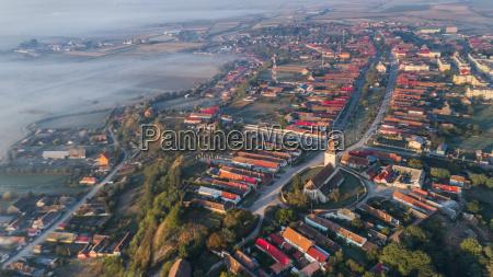 feldioara village transylvania romania